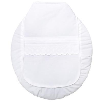 Set de baño broderie amelia blanco