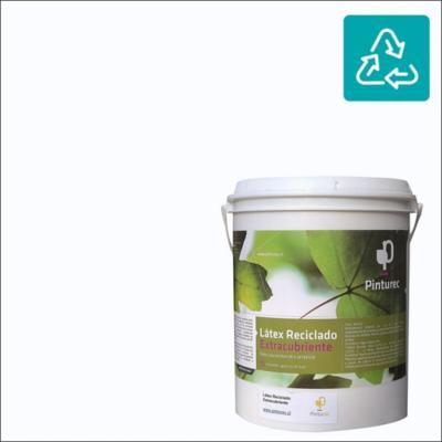 Látex reciclado extracubriente blanco nube 1 gl