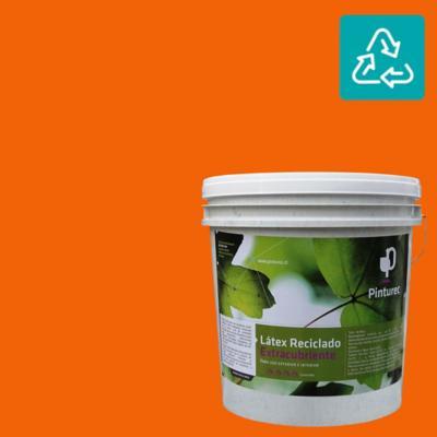 Látex reciclado extracubriente naranjo peumo 4 gl