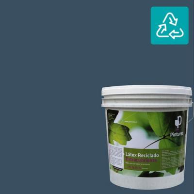 Látex reciclado extracubriente azul llanquihue 4 gl