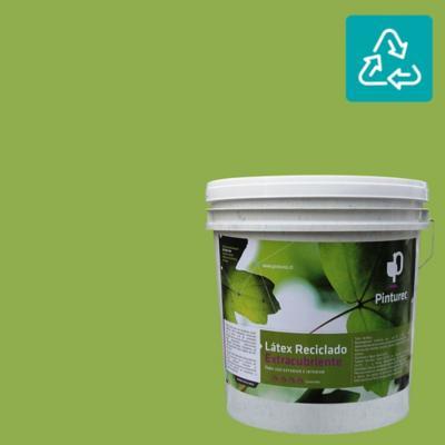 Látex reciclado extracubriente verde conguillido 4 gl