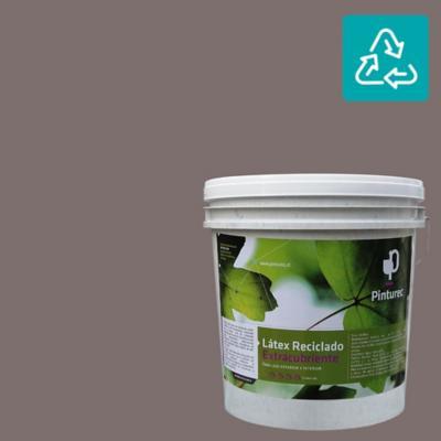 Látex reciclado extracubriente gris tatio 4 gl