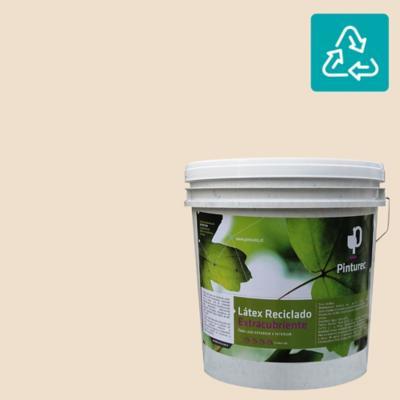 Látex reciclado extracubriente café atacama 4 gl