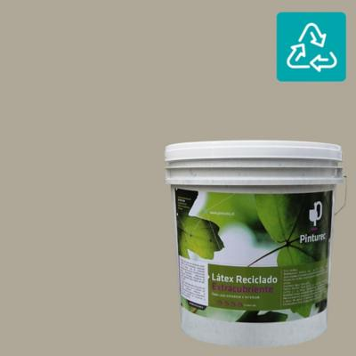 Látex reciclado extracubriente gris 4 galones