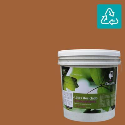 Látex reciclado extracubriente café lauca 4 gl