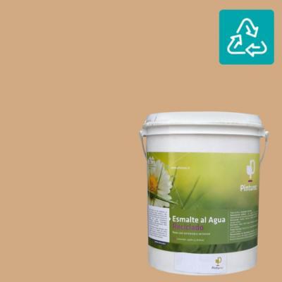 Esmalte al agua reciclado satin café elqui 1 gl