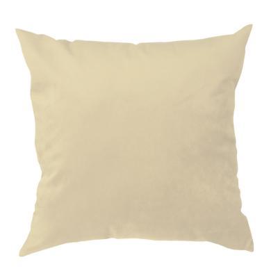 Cojín velvet beige 60x60 cm