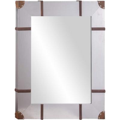 Espejo metal aplicación 76x90 cm