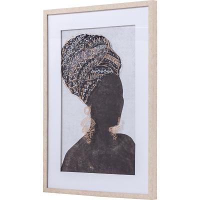 Cuadro africana 1 53x73 cm