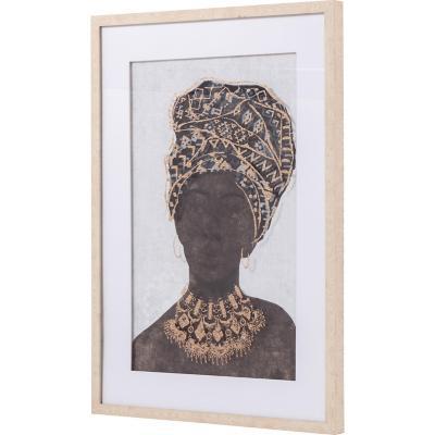 Cuadro africana 2 53x73 cm