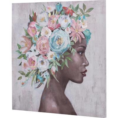 Canvas niña africana 1 60x60 cm