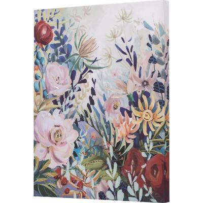 Canvas flores 50x40 cm