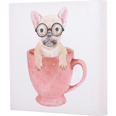 Canvas perrito 30x30 cm