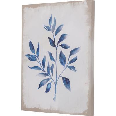 Canvas planta azul 2 50x40 cm
