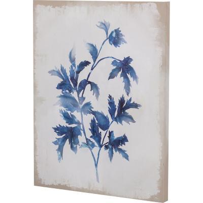 Canvas planta azul 1 50x40 cm