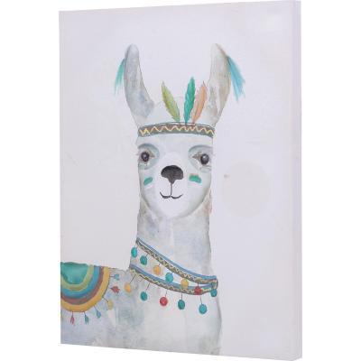 Canvas alpaca 50x40 cm