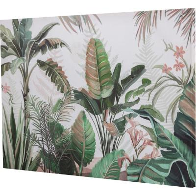 Canvas hojas verdes 90x60 cm