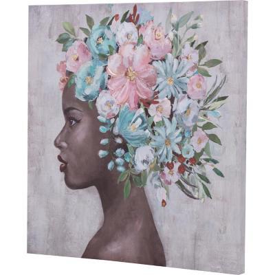 Canvas niña africana 2 60x60 cm