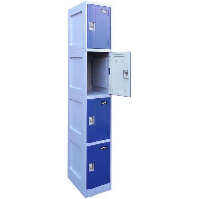 Locker 4 puertas con portacandado