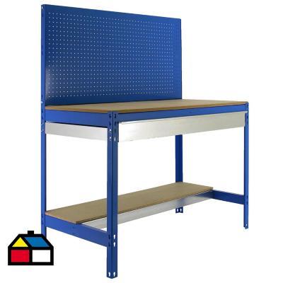 Mesa de trabajo 144,5x151x61 cm metal