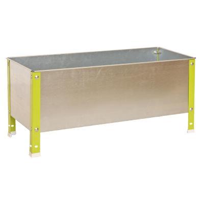 Huerto metal 41x120x40 cm