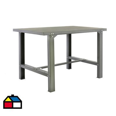 Mesa de trabajo 83x120x73 cm metal