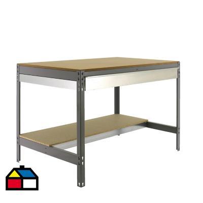 Mesa de trabajo 84,2x91x61 cm metal