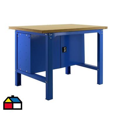 Mesa de trabajo 86,5x150x75 cm metal