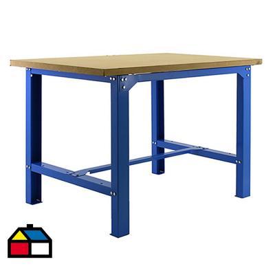 Mesa de trabajo 86,5x120x75 cm metal
