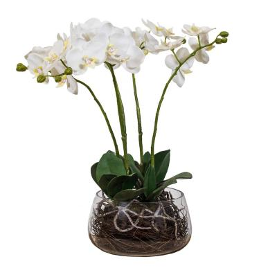 Arreglo artificial orquidea