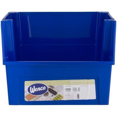 Contenedor reciclaje azul 45 litros