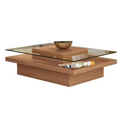 Mesa centro madera 67x100x30 cm