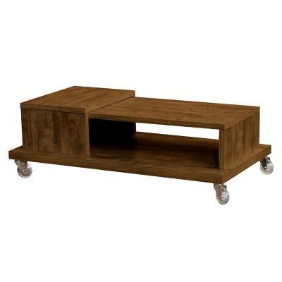 Mesa centro madera 60x111x37 cm