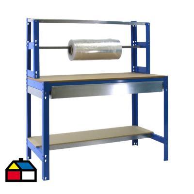 Mesa de trabajo 144,5x151x76 cm metal