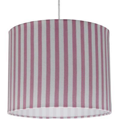 Lámpara colgante líneas rosada 1 luz E27