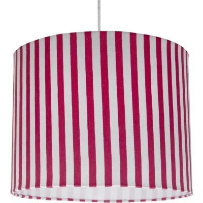 Lamp colgante líneas fucsia 1 luz E27