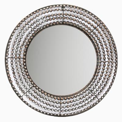 Espejo redondo perlado 61 cm