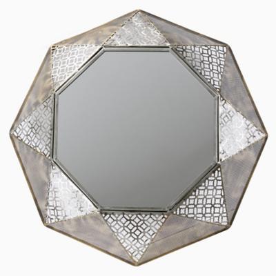 Espejo prisma perlado 76x76 cm