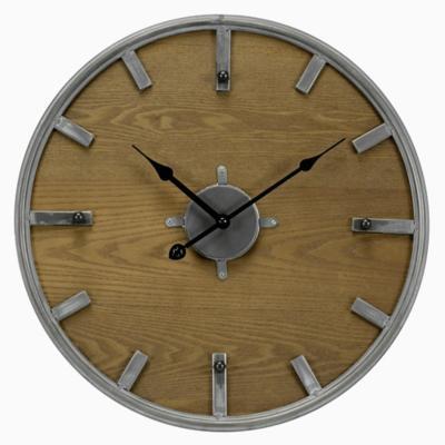 Reloj madera circular 45 cm