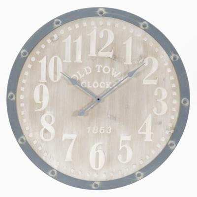 Reloj grey and natural 70 cm