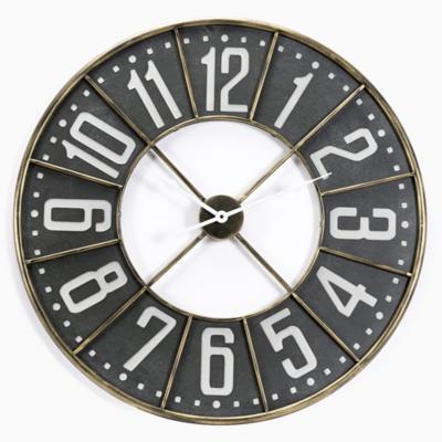 Reloj black and gold 80 cm