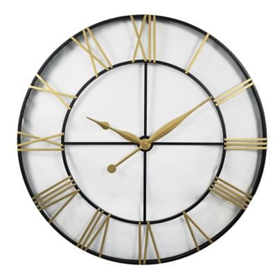 Reloj gold and black 120 cm