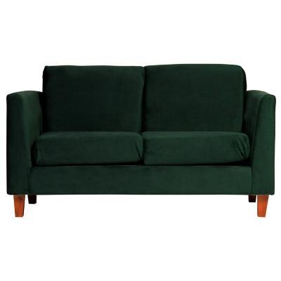 Sofá zante 2 cuerpos 150x85x86 cm verde