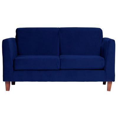 Sofá zante 2 cuerpos 150x85x86 cm azul