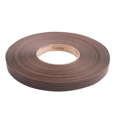 Tapacanto PVC roble oscuro 22x0,45 mm 100 m