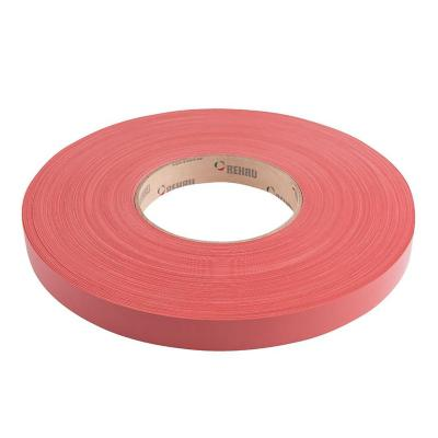 Tapacanto PVC rojo 22x0,45 mm 100 m