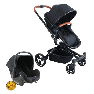 Coche Travel System 360 negro