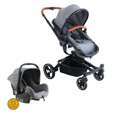 Coche Travel System 360 gris