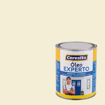 Oleo experto blanco hueso  1/4 galón