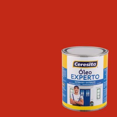 Oleo experto bermellón 1/4 galón